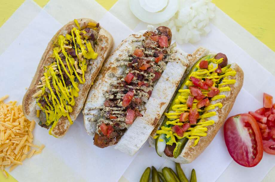 With 30 toppings and several different sausages, the combinations are endless at Dat Dog.
