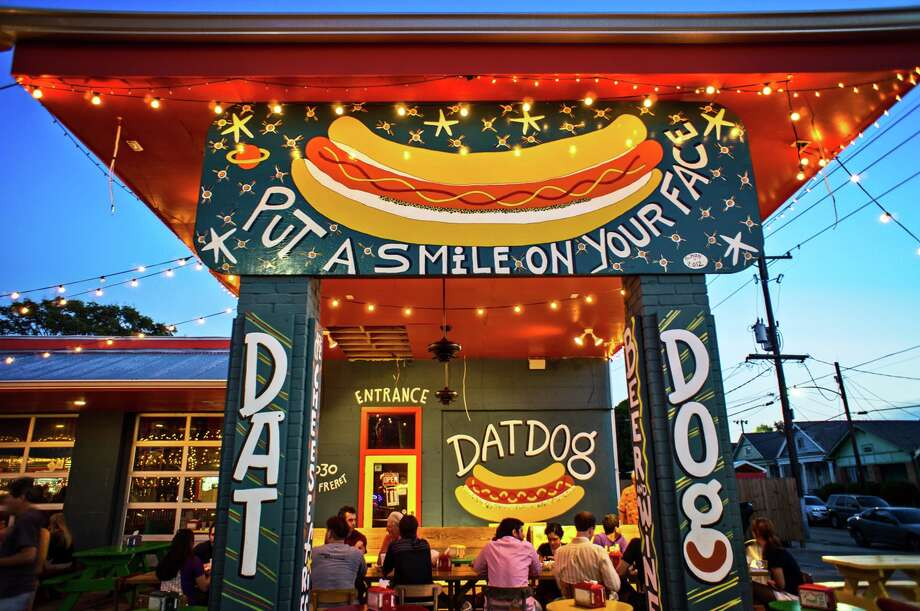 Dat Dog out of New  Orleans is aiming to open its first Houston location in 2018.Keep clicking to see more photos from Dat Dog.  Photo: Katie Sikora Photography / © 2012 Laskowitzpictures, LCC