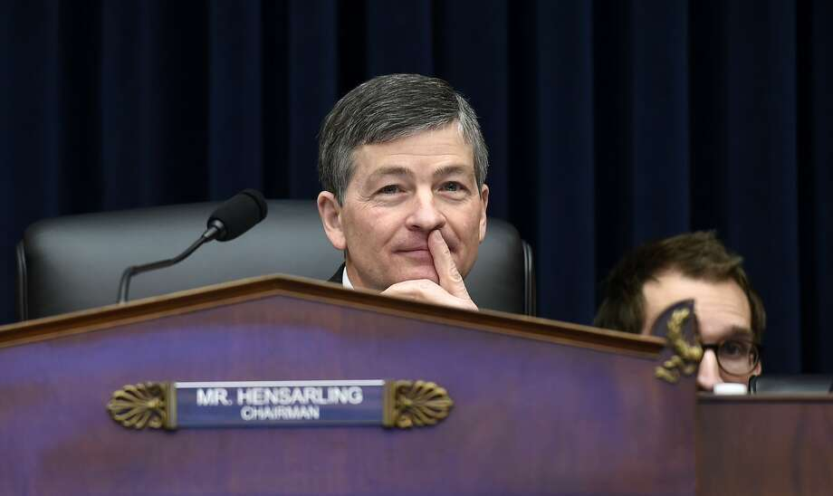 Rep. Jeb Hensarling, R-Texas, has scheduled a hearing on replacing the Dodd-Frank Act. Photo: Susan Walsh, Associated Press
