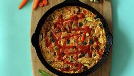 Put whatever vegetables you have on hand into a Hot Mess Frittata. This and other recipes, page D3.