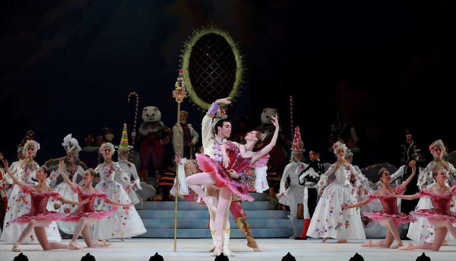 "Sara Webb, Connor Walsh and other artists of Houston Ballet perform in ""The Nutcracker"" last years.  (Photo by Amitava Sarkar) Photo: Amitava Sarkar"