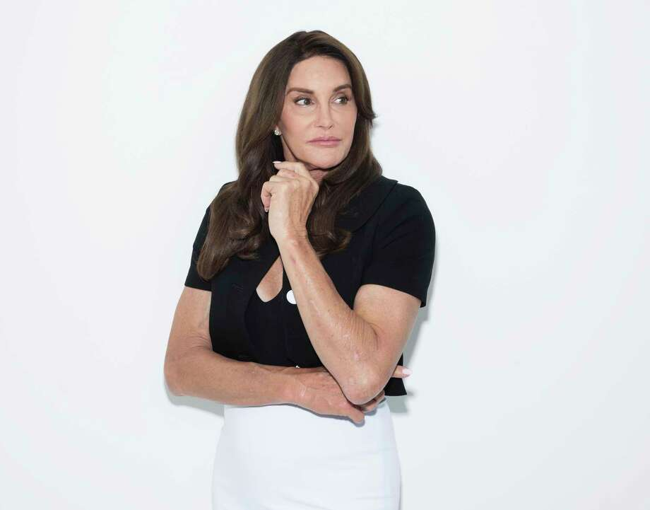 "Caitlyn Jenner poses for a portrait on Monday, April 24, 2017, in New York to promote her memoir, ""The Secrets of My Life."" (Photo by Taylor Jewell/Invision/AP) Photo: Taylor Jewell, INVL / 2017 Invision"