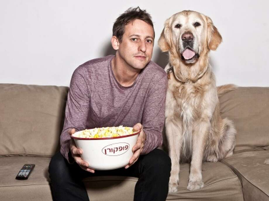 Even though he doesn't own a dog himself, DOGTV's Ron Levi says he thought the concept of a TV channel for dogs would be a hit. Photo: DogTV