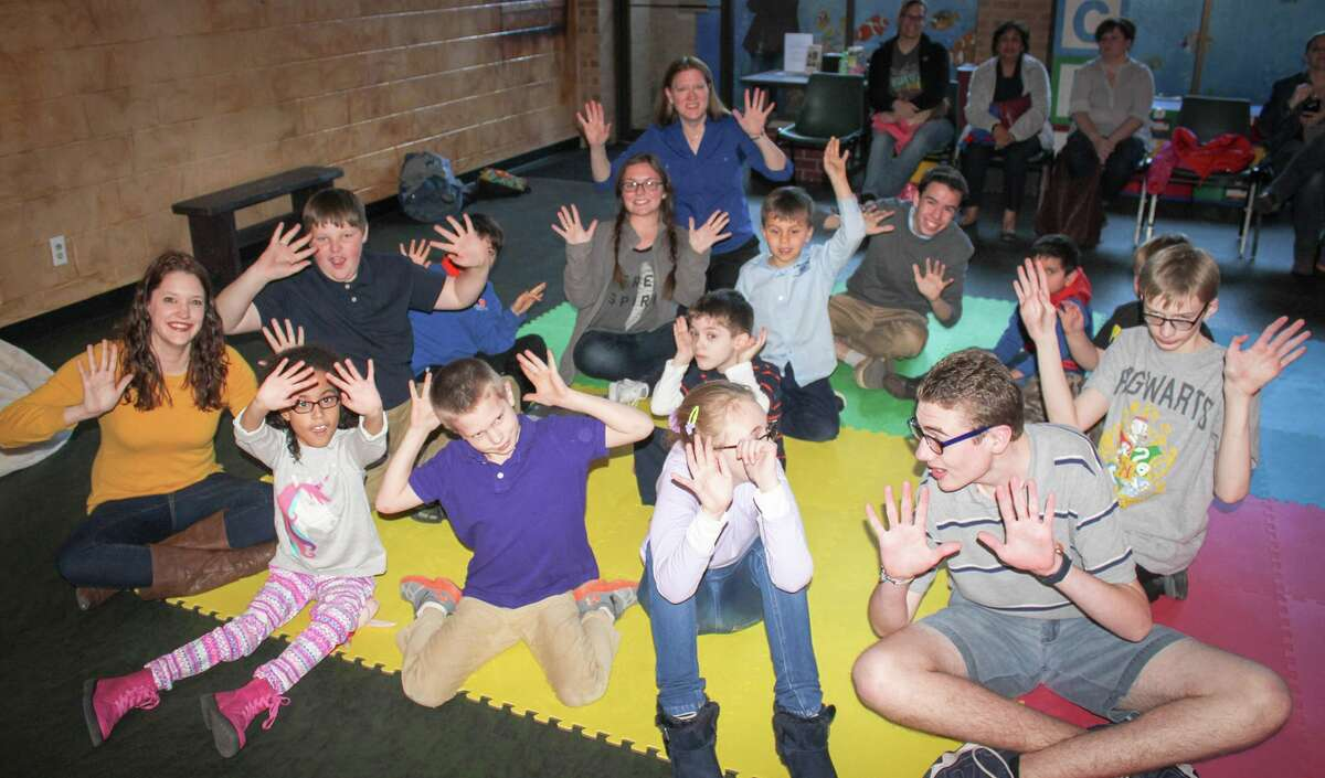 Pictured here is MCT's Applause! Players class, a creative drama class designed for students on the autism spectrum.
