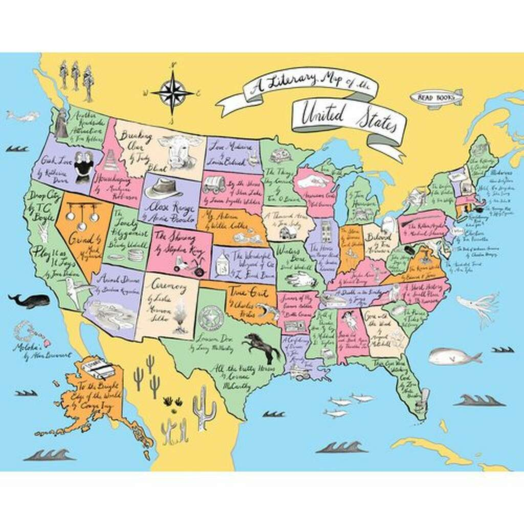 Independent bookstore day a national book party returns april 29 a literary map of the us is one of the items that will be on sale gumiabroncs Choice Image