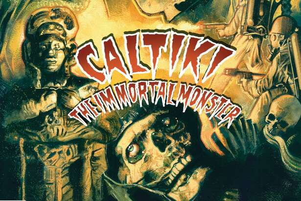 The monster Caltiki looks better than ever in this reissue, which is still not that great.