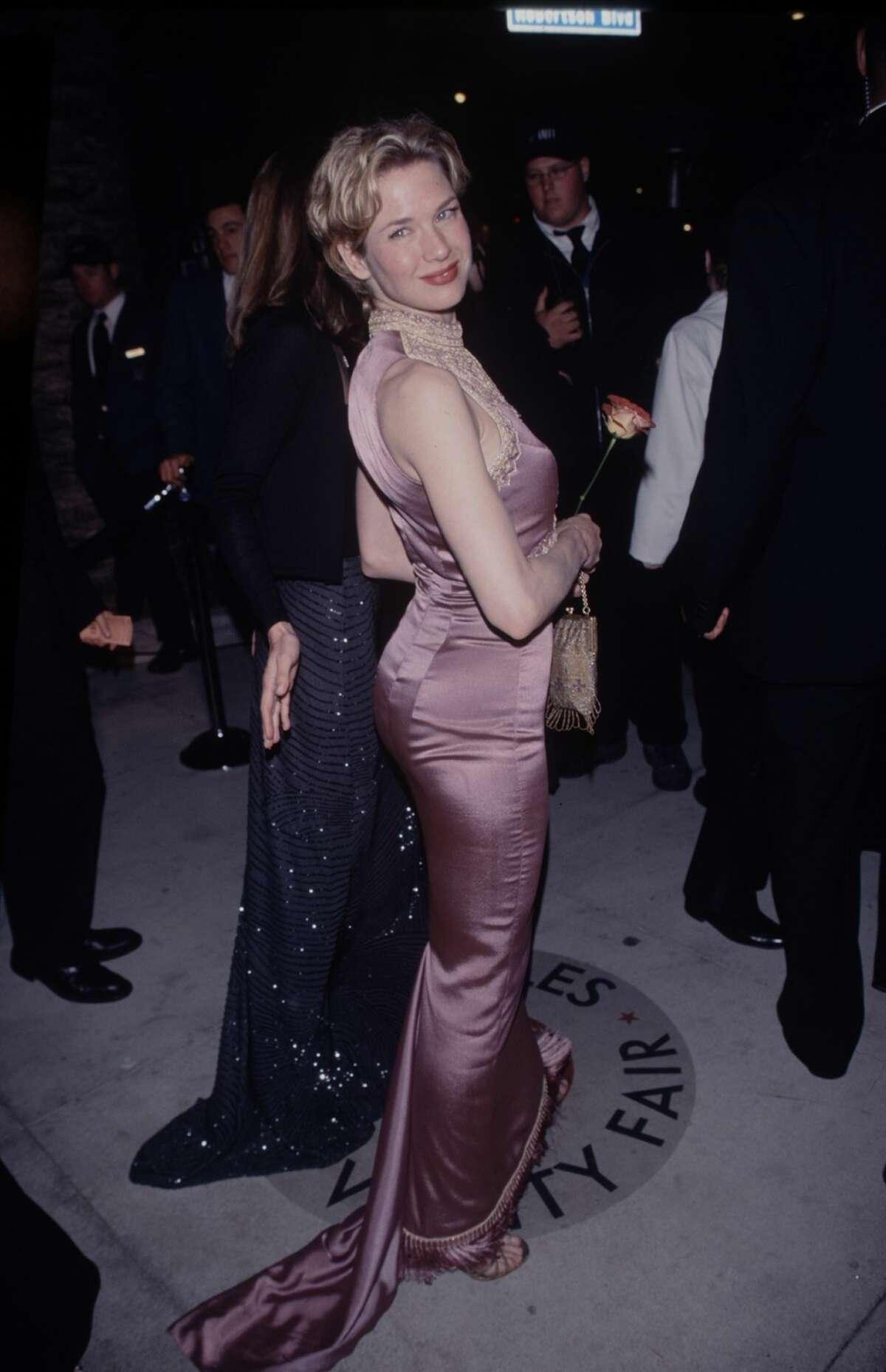 Actress Renee Zellweger circa 1998.