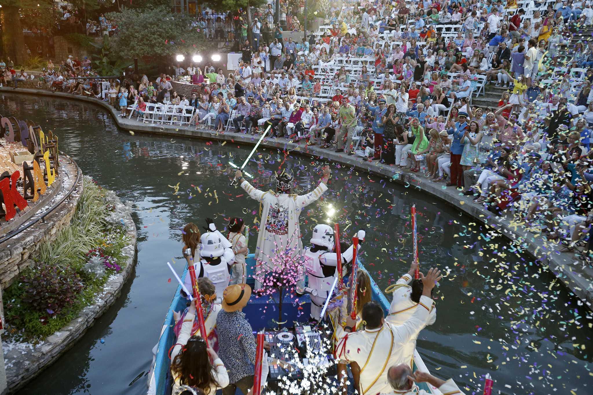 2017 Texas Cavaliers River Parade Quot Kaleidoscope Quot Held