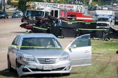 Dramatic 911 call recounts moments of fatal Conroe crash