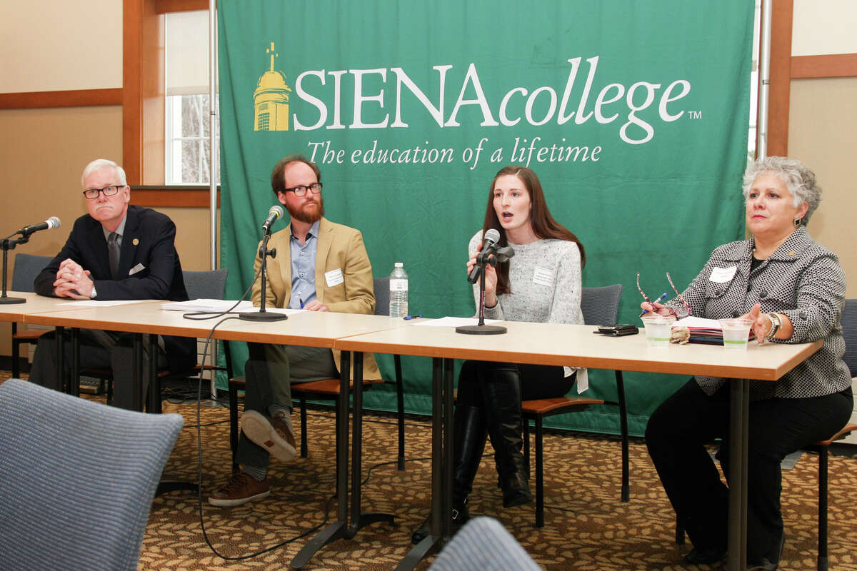 Were you Seen at the Capital District Food Summit at Siena College in Loudonville on Tuesday, April 4, 2017?