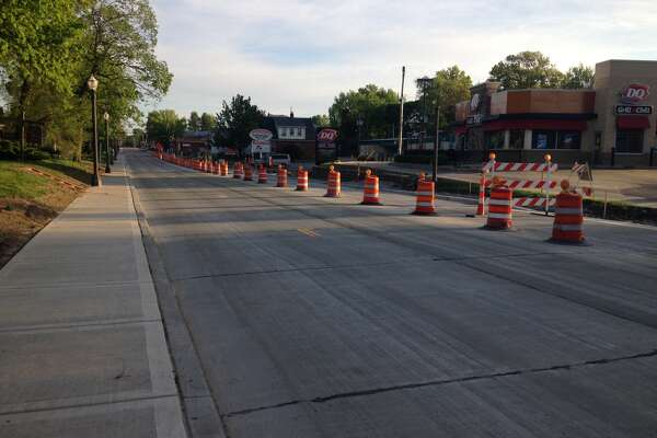 South Buchanan Street was open to traffic Tuesday morning. The northbound lane remained close as work was underway on the intersection with Wolf Street. The southbound and center lanes were, however, open. Buchanan Street had been closed from Schwarz Street to the MCT Bike Trial since April 17.