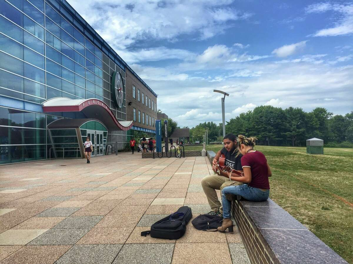 25. SUNY Purchase College in PurchaseAcceptance rate: 41%SAT scores range: 990-1210ACT scores range: 19-25Net price: $17,325/year
