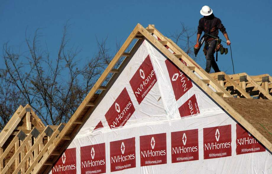 Sales of new homes in the United States forged higher for the third straight month in March, hitting the fastest pace since July, the Commerce Department reported. The acceleration came as the volume of new houses for sale reached its highest level in nearly eight years, pointing to homebuilders' efforts to meet consistently strong demand in a tight market. Photo: Paul J. Richards /AFP /Getty Images / AFP or licensors
