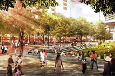 1.	San Antonio is reversing the trend of urban sprawl by becoming a pedestrian-friendly business, recreation, and art hub accessible to anyone in the downtown area.  http://hemisfair.org/wp-content/uploads/2016/01/Hemisfair-Civic-Park-GGN-Renderings.pdf