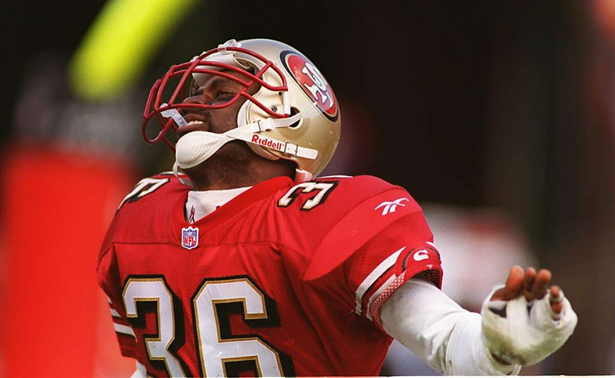 MERTON HANKS: The fifth round pick became a premier NFL safety but what really fired up the 49ers' fans was when he broke out the Chicken Dance, one of the great celebration dances ever.