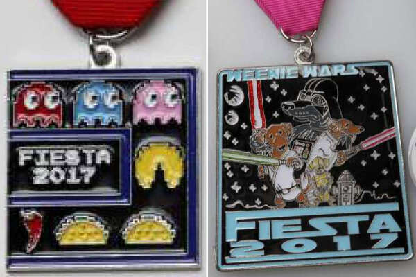 A look at the this year's most hilarious Fiesta medals.