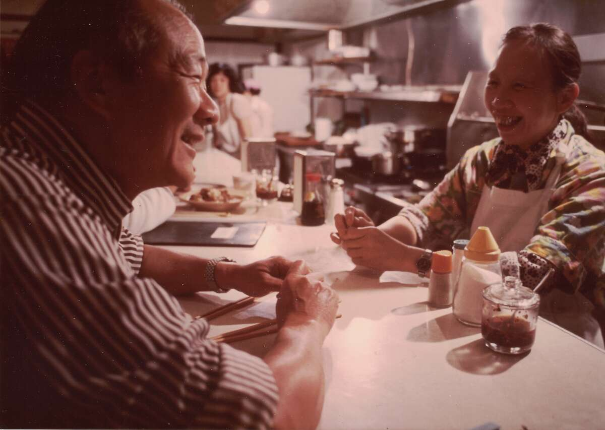 Family photos of Henry Chung, founder of Henry's Hunan.