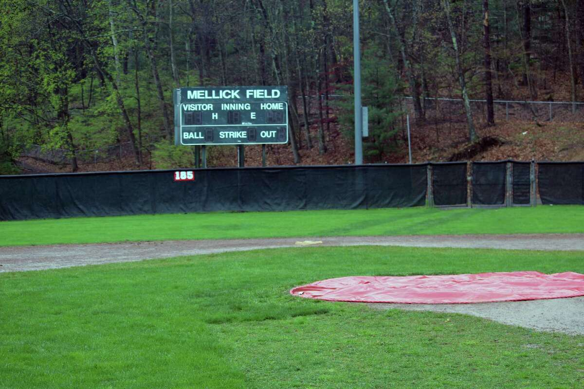 Mellick Field in Mead Park is one of several New Canaan athletic facilities that will receive major improvements this summer.