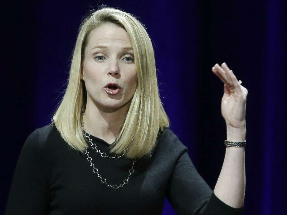 Mayer's Yahoo shares, stock options and restricted stock units were worth $186 million as of Monday, according to data in the company's filing and based on Yahoo's Monday closing price of $48.15 a share. Photo: Associated Press File Photo / Copyright 2016 The Associated Press. All rights reserved. This material may not be published, broadcast, rewritten or redistribu