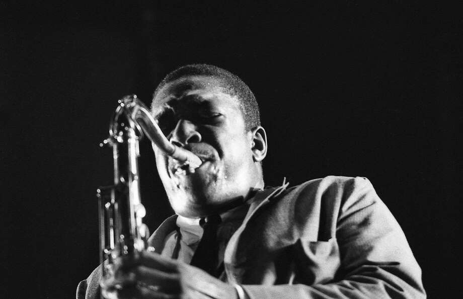 """A still from """"Chasing Trane: The John Cotrane Documentary,"""" showing Wednesday, June 7 at the Museum of the African Diaspora. Photo: Abramorama"""