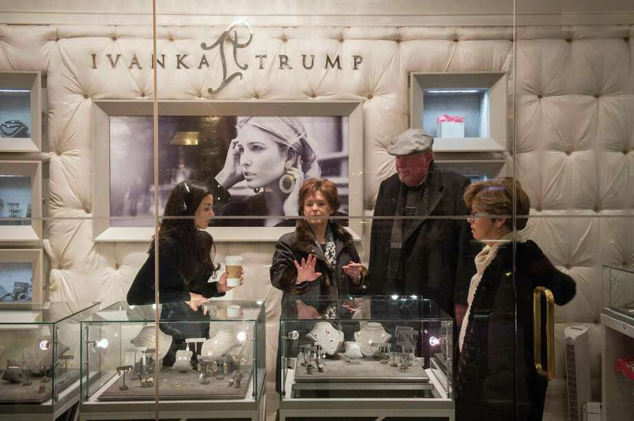 Workers at a factory in China used by G-III Apparel Group worked nearly 60 hours a week to earn wages of little more than $62 a week, according to a factory audit. G-III has held the exclusive license to make the Ivanka Trump brand's clothing, Photo: Bryan R. Smith /AFP /Getty Images / AFP or licensors