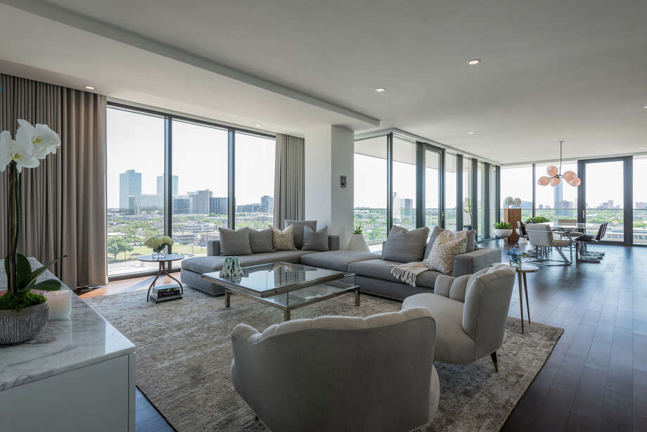 The River Oaks has unveiled a newly completed, fully-furnished model residence located on the 10th floor of the 18-story luxury condominium. Photo: Courtesy Of Michael Hunter