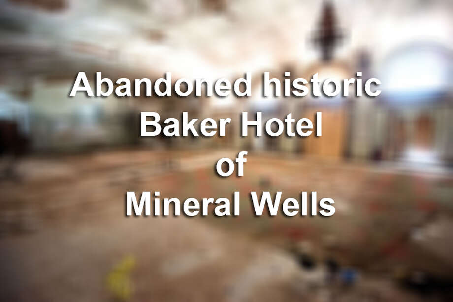 The abandoned historic Baker Hotel hosted legendary guest such as Marilyn Monroe. Photo: Mysa