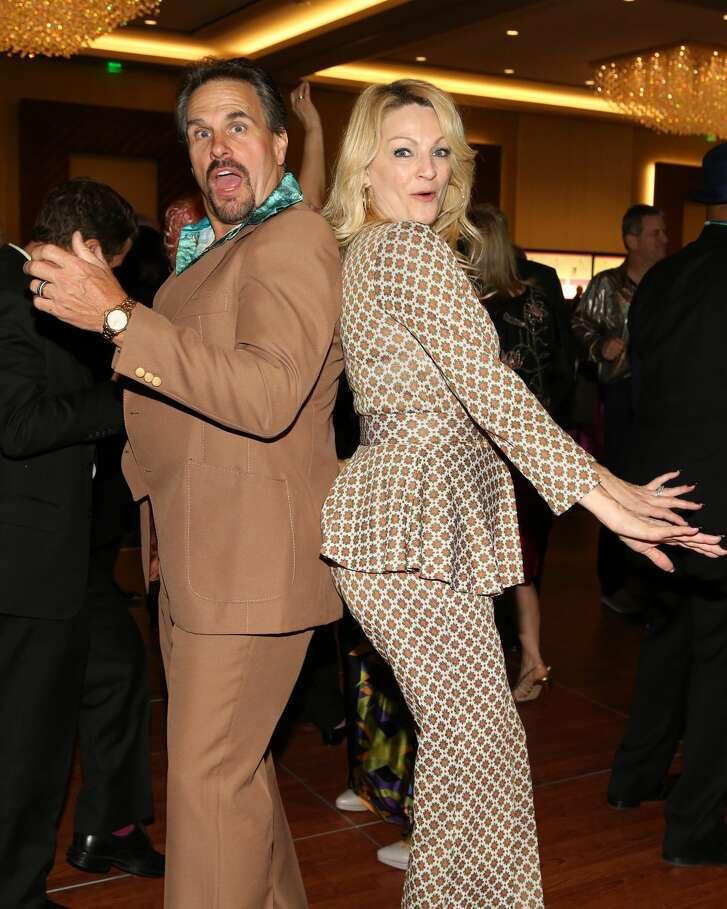 1.     Duke and C.C. Ensell danced the night away in full 70s costume