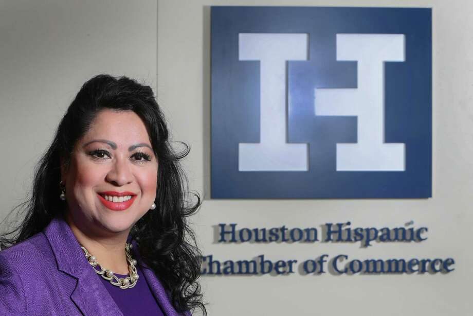 Dr. Laura Murillo, the president and CEO of the Houston Hispanic Chamber of Commerce. Photo: Steve Gonzales, Staff / © 2017 Houston Chronicle