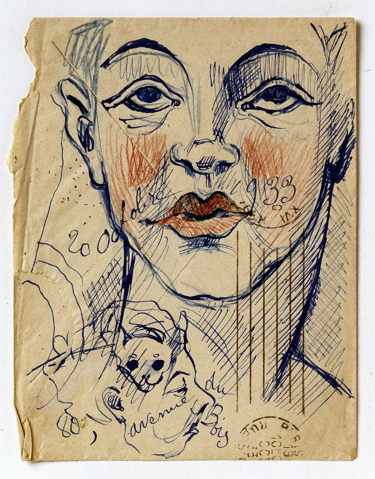 Francis Picabia,�Untitled (1933), on view at Adrian Rosenfeld