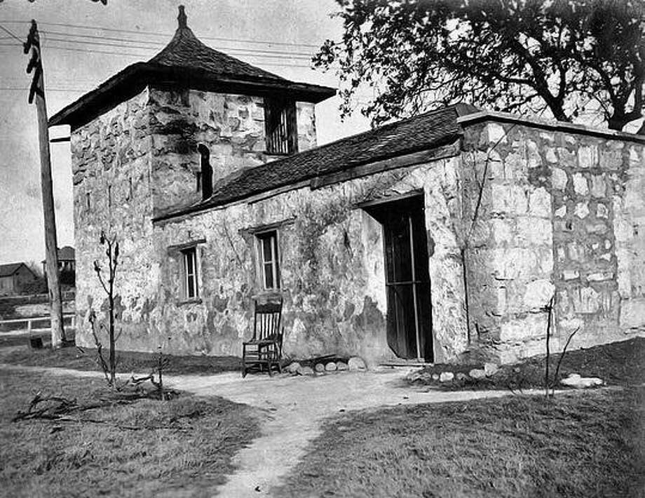 A 1908 view of the Block House, or Old Fort, in San Pedro Springs Park. Photo: Courtesy Photo /Friends Of San Pedro Springs Park