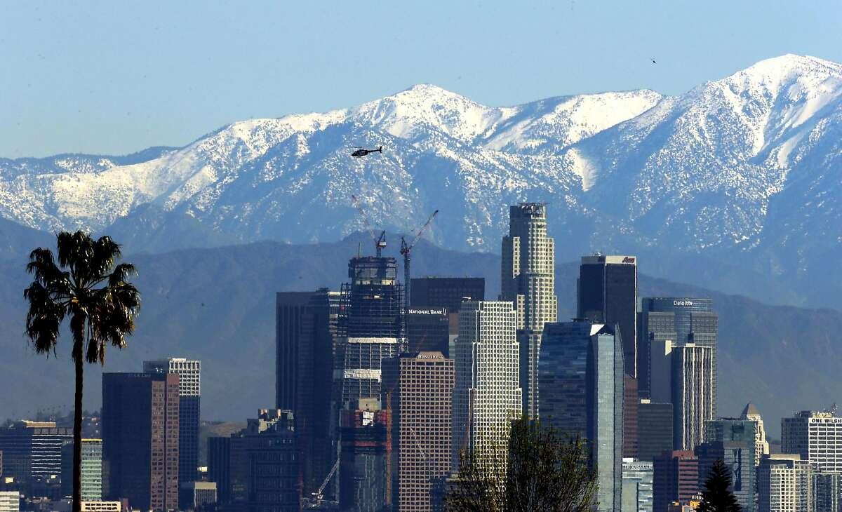 Los Angeles High temperature: 100
