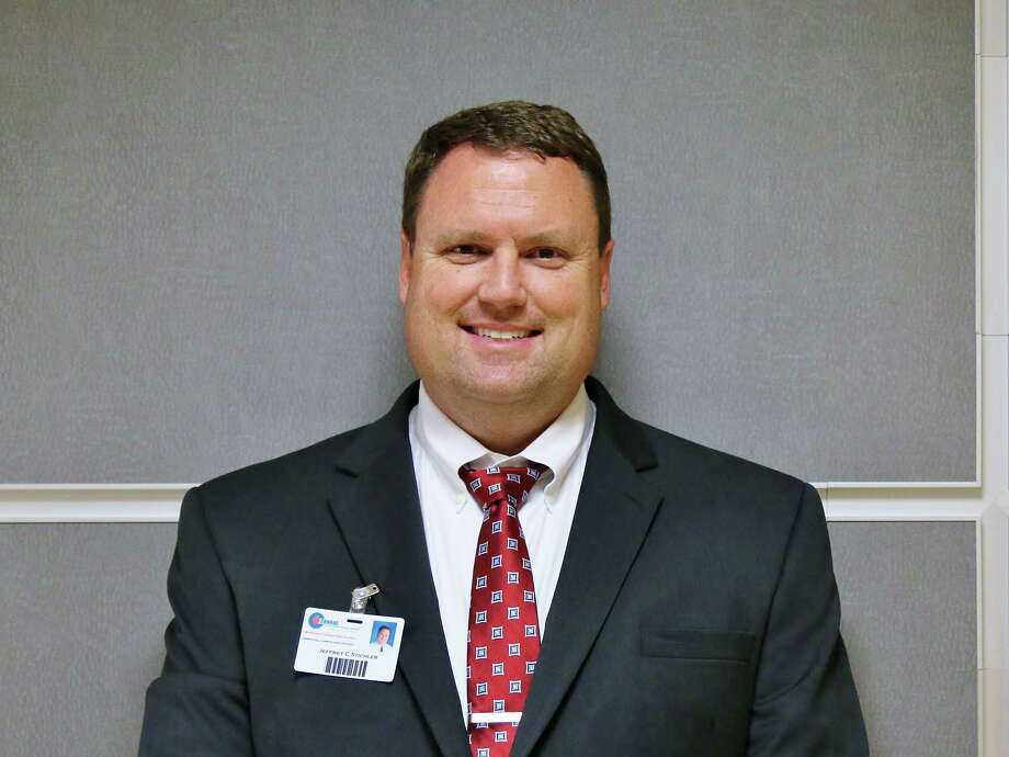 Moorhead Junior High School Principal Jeff Stichler was unanimously approved to be Caney Creek High School's new principal during the Conroe ISD Board of Trustee meeting on April 18. Photo: Courtesy CISD