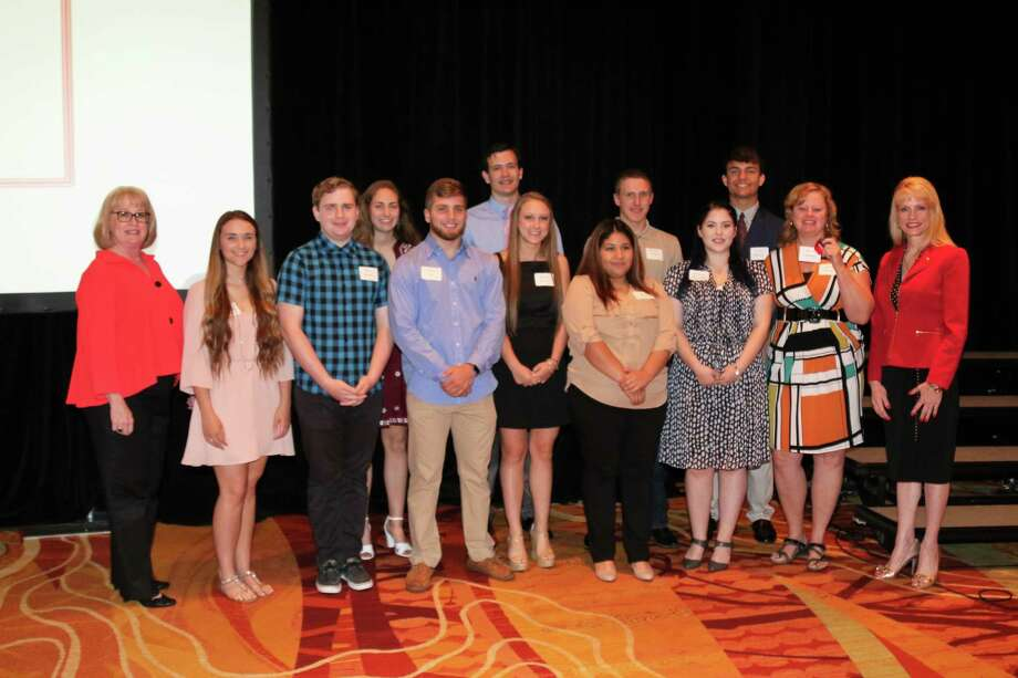 Fourteen CISD students were awarded academic scholarships during the 11th annual Education Foundation Scholarship Breakfast on Thursday, April 20 at the The Woodlands Waterway Marriott. The well-known breakfast raised over $200,000 benefiting local students and educators who seek to further their education. Photo: Courtesy Conroe ISD