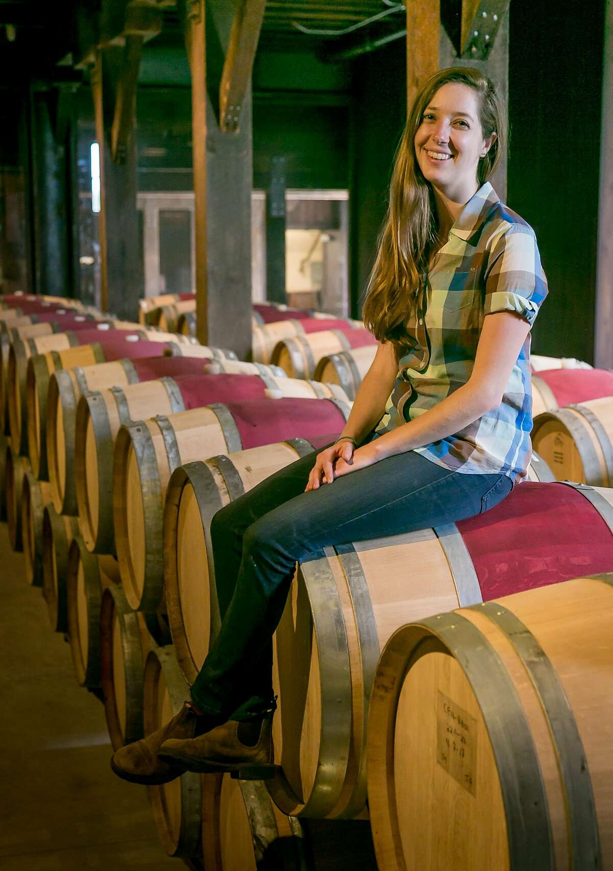 Hailey Trefethen of Trefethen Winery in Napa, Calif., is seen on April 25th, 2017.