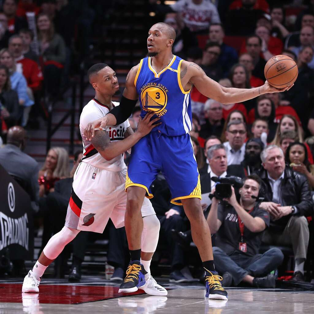 At long last Warriors David West is playing for an NBA title