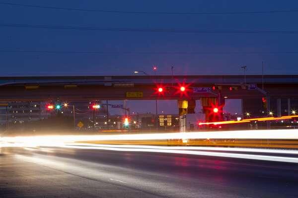 Traffic on Highway 349 north of Loop 250 photographed April 25, 2017. James Durbin/Reporter-Telegram