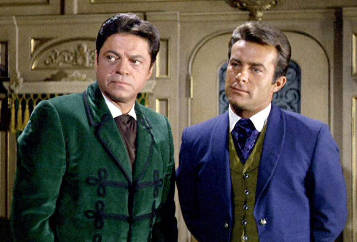 Ross Martin and Robert Conrad,