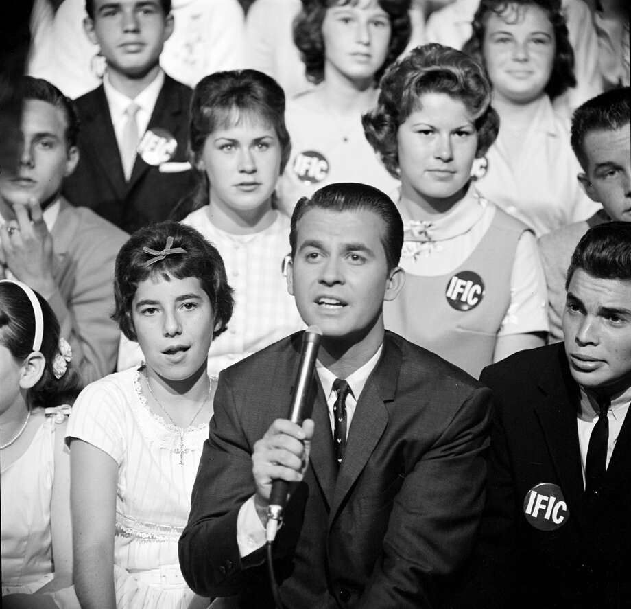 "Dick Clark, ""American Bandstand""Clark turned 31 in 1960 but he never looked much older than his teenage guests. He died in 2012. Photo: ABC Photo Archives/ABC Via Getty Images"