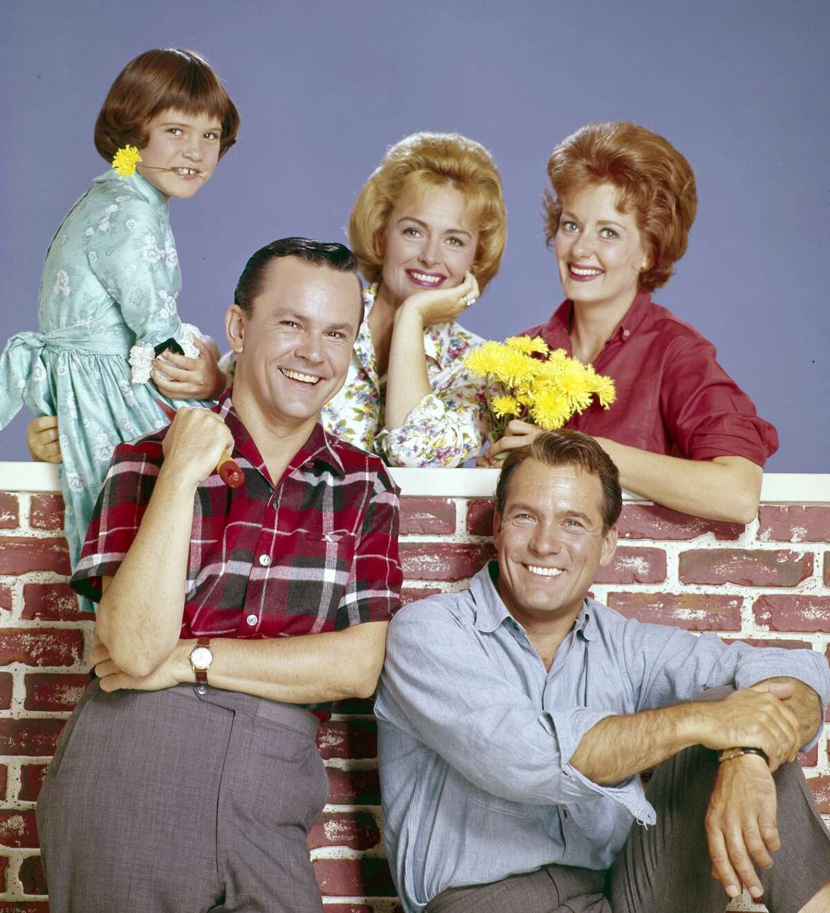 Patty Petersen, Bob Crane, Donna Reed, Carl Betz and Ann McCrea,