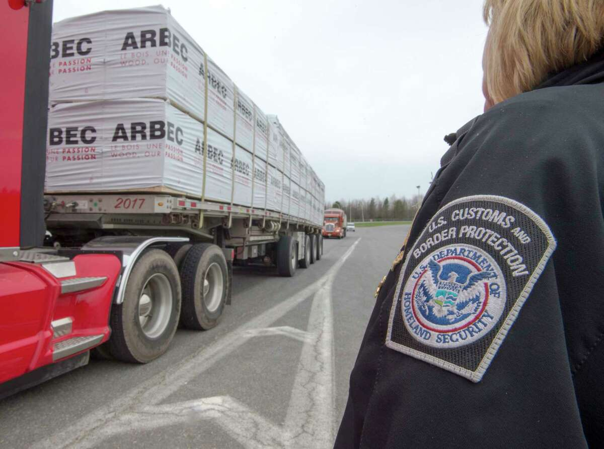 Canada's Border Service Agency workers are taking a strike vote next week, posing the latest challenge to a possible reopening of the border with the United States.