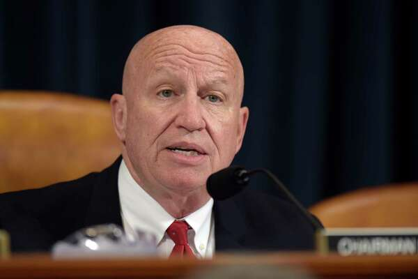 House Ways and Means Committee Chairman Rep. Kevin Brady, R-Texas., speaks during a meeting on Capitol Hill in Washington, Tuesday, March 28, 2017, to discuss House Resolution 186, an inquiry directing the Treasury Secretary to provide to the House of Representatives the tax returns and other specified financial information of President Donald Trump. (AP Photo/Susan Walsh)