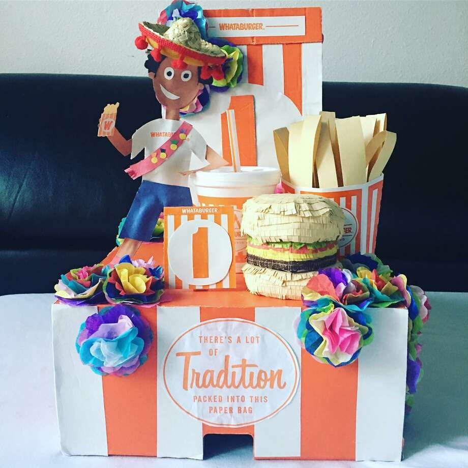 """Chicken'N Fries"" Whataburger float by Ivan Jr. Photo: Instagram / Bousiebabymommy"