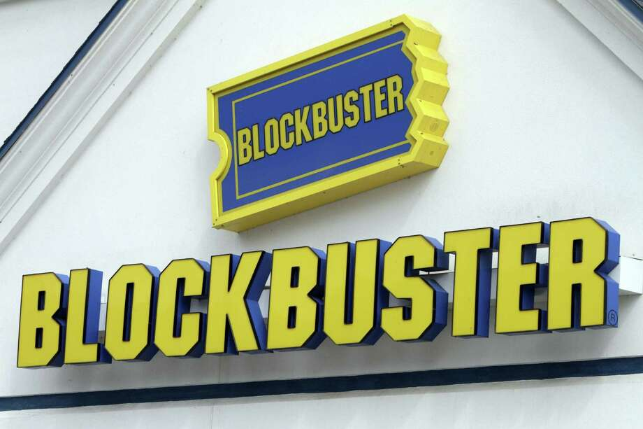 At least 10 known Blockbuster stores across the country have managed to        stay afloat in the digital age. Photo: Toby Talbot, AP / AP2010