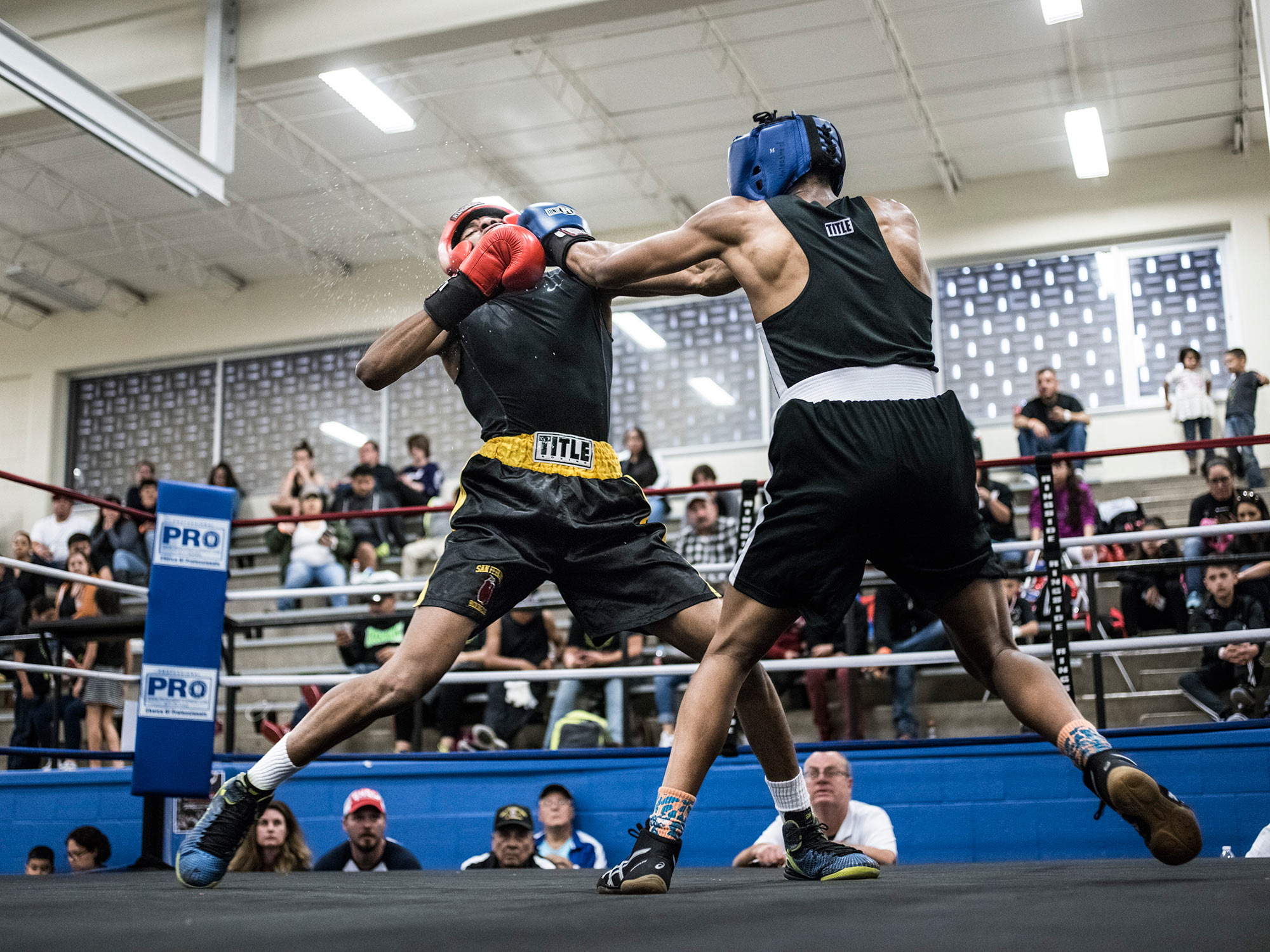 Youth amateur boxing