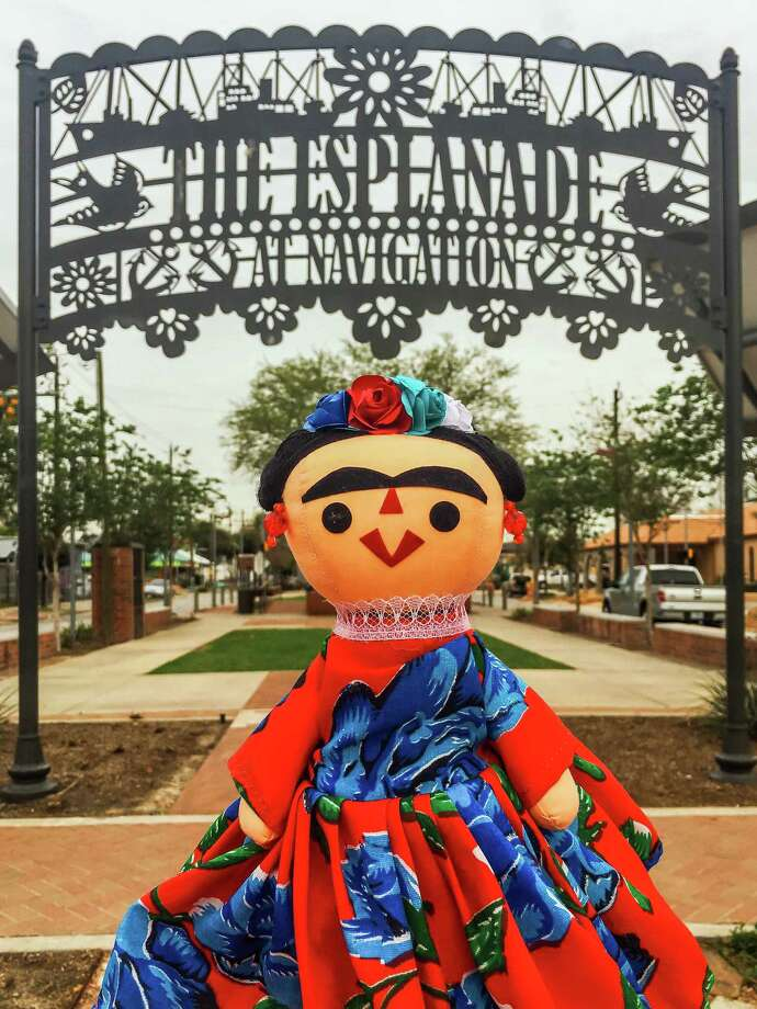 In its 15th year, the beloved Frida festival is scheduled to take place Sept. 4- 12th at the Hardy & Nance Studios located at 902 Hardy St., Houston, 77020. Guests can sign up for a time slot to attend the popup show and curated exhibit, which will only allow 15 guests every 30 minutes to come through the event. Photo: Alex Barber / Stratford Booster Club