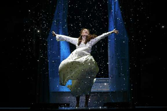 "Christine Dwyer as Sylvia Llewelyn Davies in ""Finding Neverland"" at SHN."