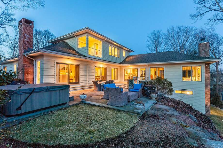 Relax on the bluestone patio or wood deck from which to enjoy water views and fireworks over Southport Harbor. There is also a hot tub and a grilling area.