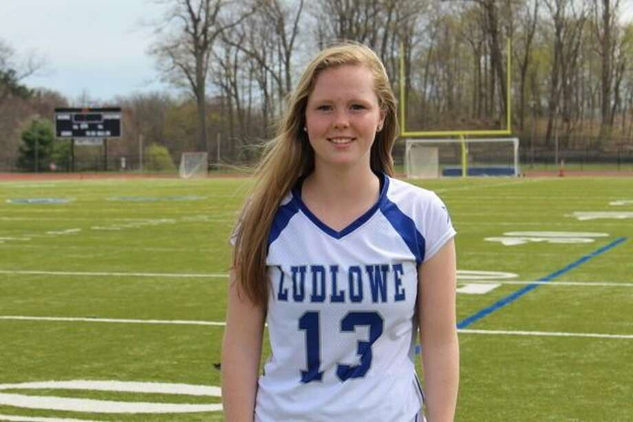 Meg Donahue, Ludlowe lacrosse Photo: Contributed / Contributed