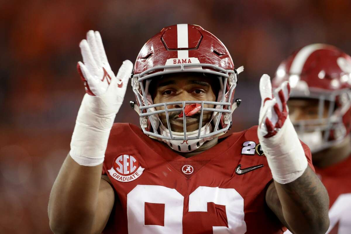 3. Chicago BearsDE Jonathan Allen, Alabama(Previous pick: Allen)Notes: Allen's stock seems to be rising again after being picked apart a bit earlier in the process. He may never be a superstar, but he's a solid player with a high floor, and the Bears need solid players.